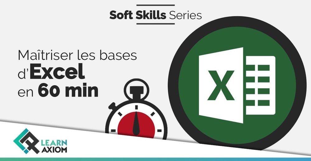 Formation pratique entreprise et apprenez les bases d'Excel en 60 minutes